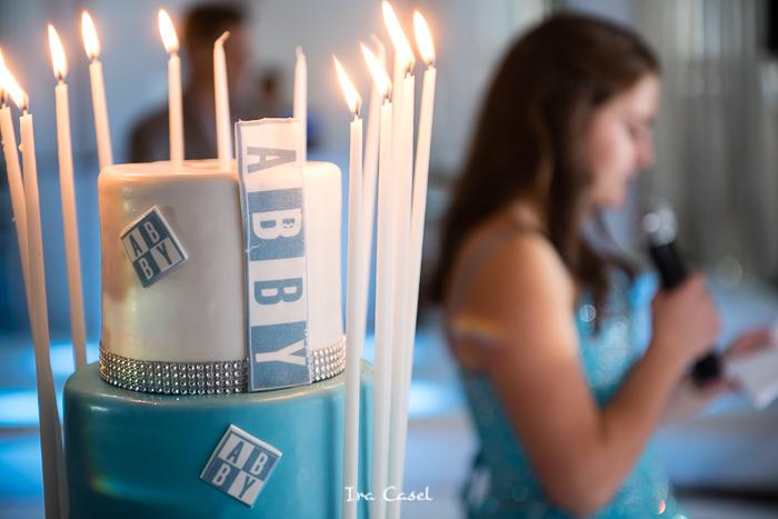 Candlelighting at Crystal Plaza Bat Mitzvah